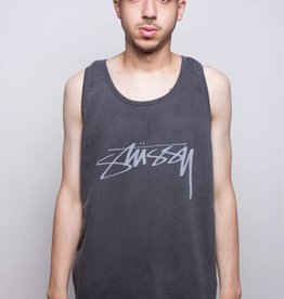Stussy Stussy Smooth Stock Pig. Dyed Tank Black