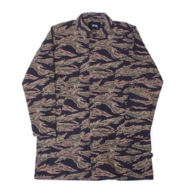 Stussy Stussy Seersucker Mac Coat Tiger Camo