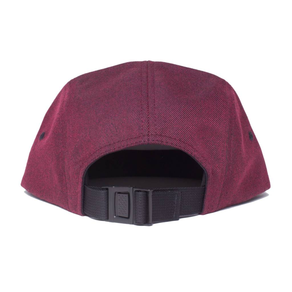 Stussy Stussy Melange Twill Camp Cap Red