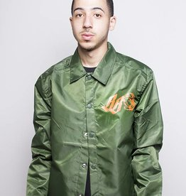 BBC BBC Delic Coach Jacket Forest