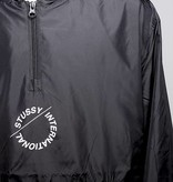 Stussy Stussy NYLON POP OVER JACKET Black