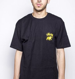 Stussy Stussy STOCK LION TEE Black