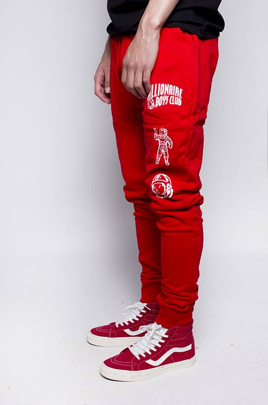 BBC BBC Double Arch Jogger Red