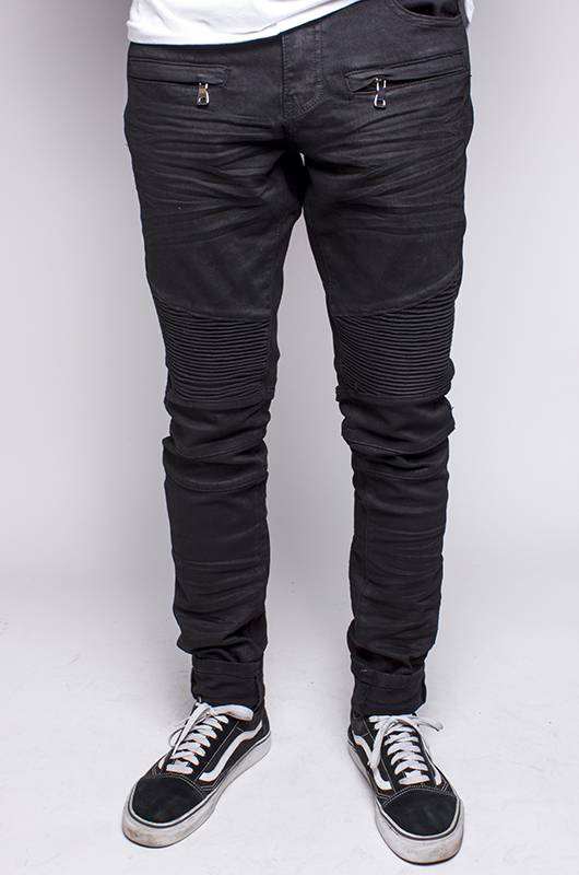Embellish Denim Embellish Balkins Biker Black