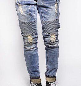 Embellish Denim Embellish Lincoln Biker Distressed