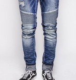 Embellish Denim Embellish Lance Biker Dark Blue