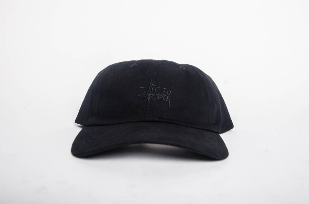 Stussy Stussy BASIC LOGO LOW PRO CAP Black