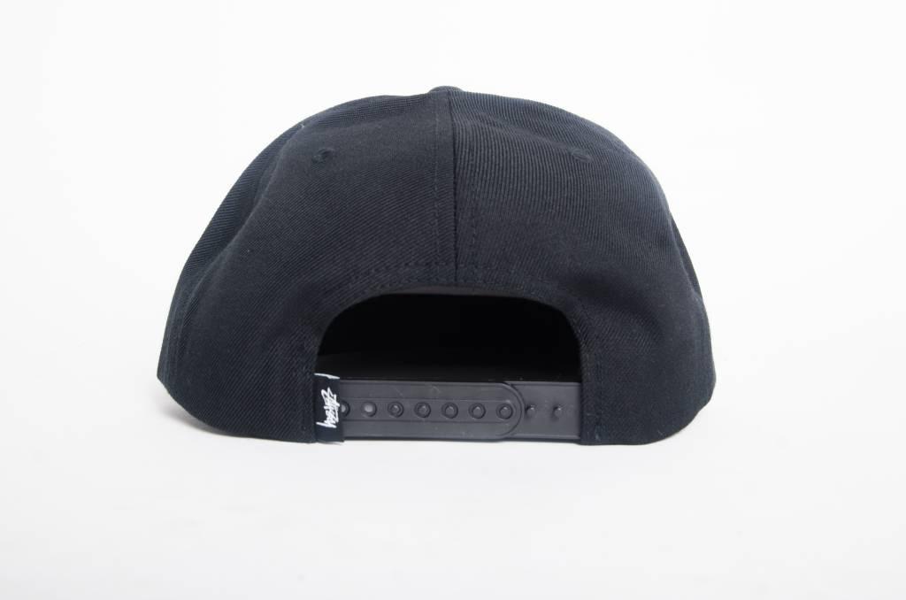 Stussy Stussy Stock Logo Cap Black
