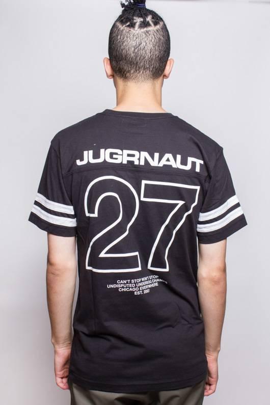Jugrnaut Jugrnaut 27 Football Tee Black