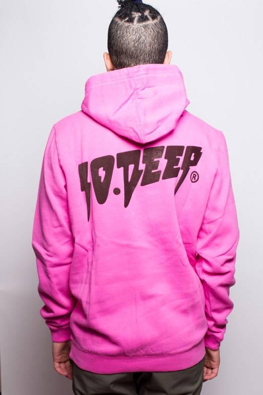 10 Deep 10 Deep Sound and Fury Hoodie Pink
