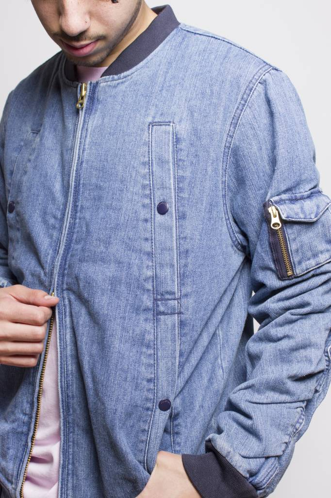 10 Deep 10 Deep Wrangler Denim Aviator Jacket