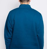 Stussy Stussy Quarter Zip Mock Neck Dark Blue