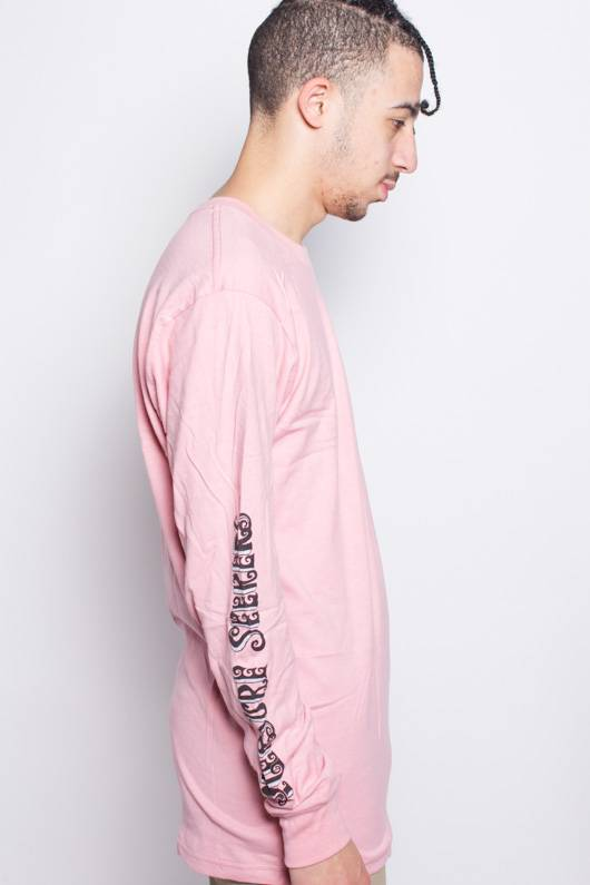 Stussy Stussy Pleasure Seekers LS Tee Dusty Rose