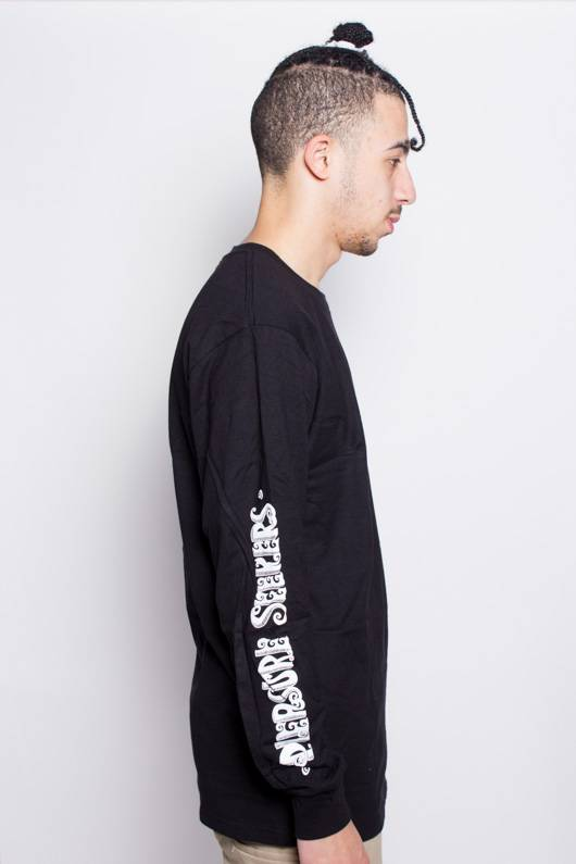 Stussy Stussy Pleasure Seekers LS Tee Black
