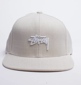Stussy Stussy Stock Logo Cap Wheat