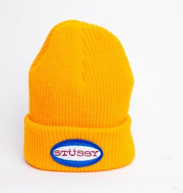Stussy Stussy Oval Patch Cuff Beanie Gold
