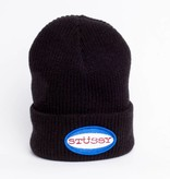 Stussy Stussy Oval Patch Cuff Beanie Black