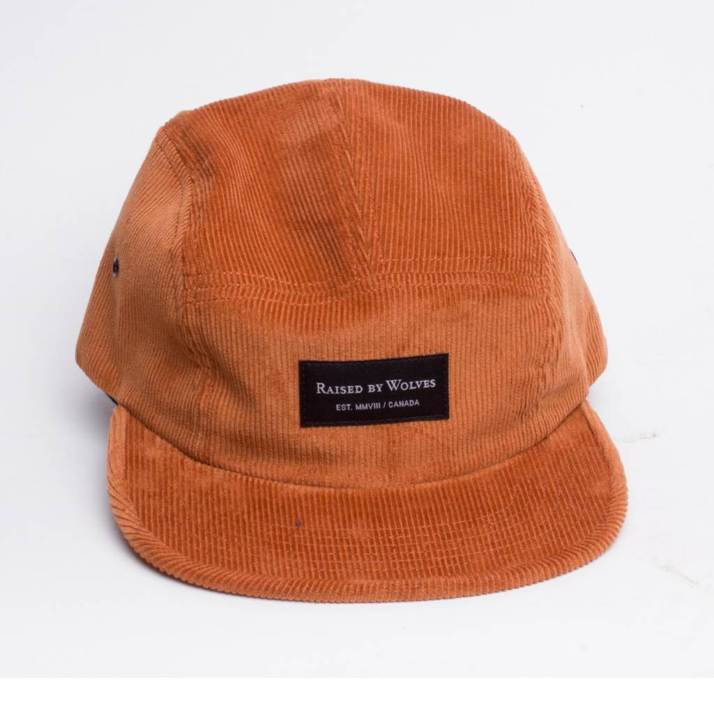 Raised By Wolves Raised By Wolves Corduroy Cap Russet