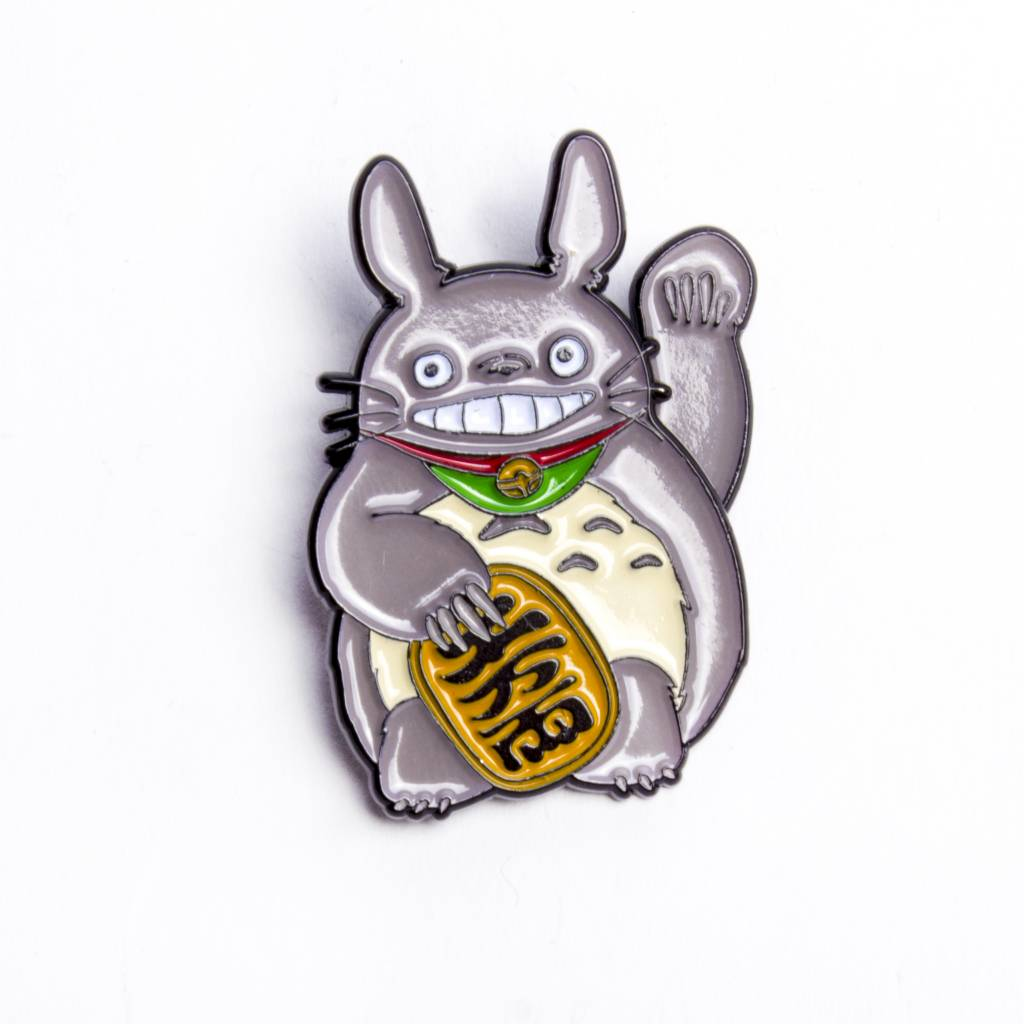 Peabe Pea-Be Lucky Totoro Pin