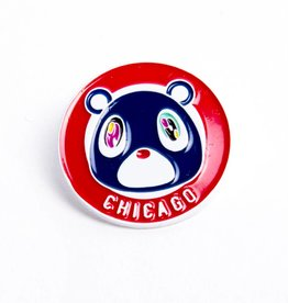 Pea-Be Chicago Yeezy Bear Pin