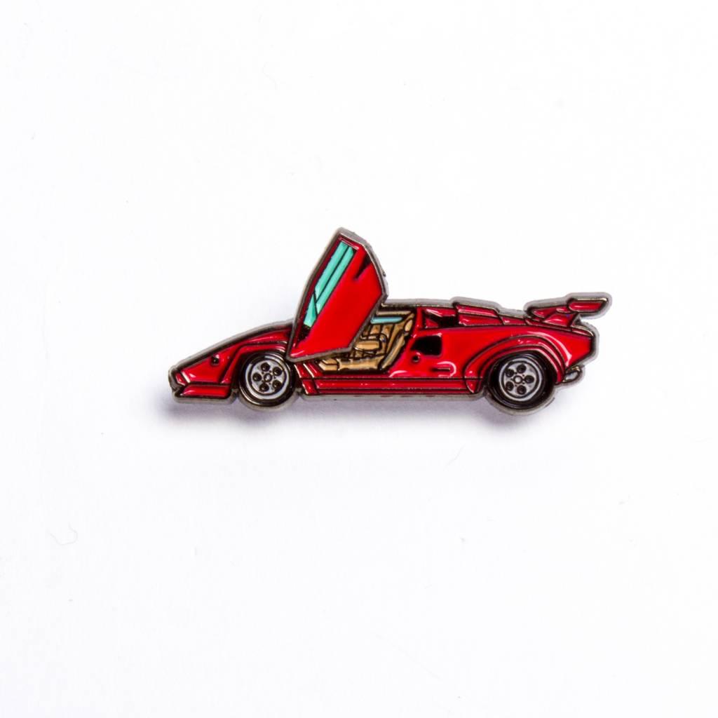 Peabe Countach Red Car