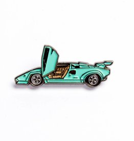 Peabe Peabe Countach Blue Car