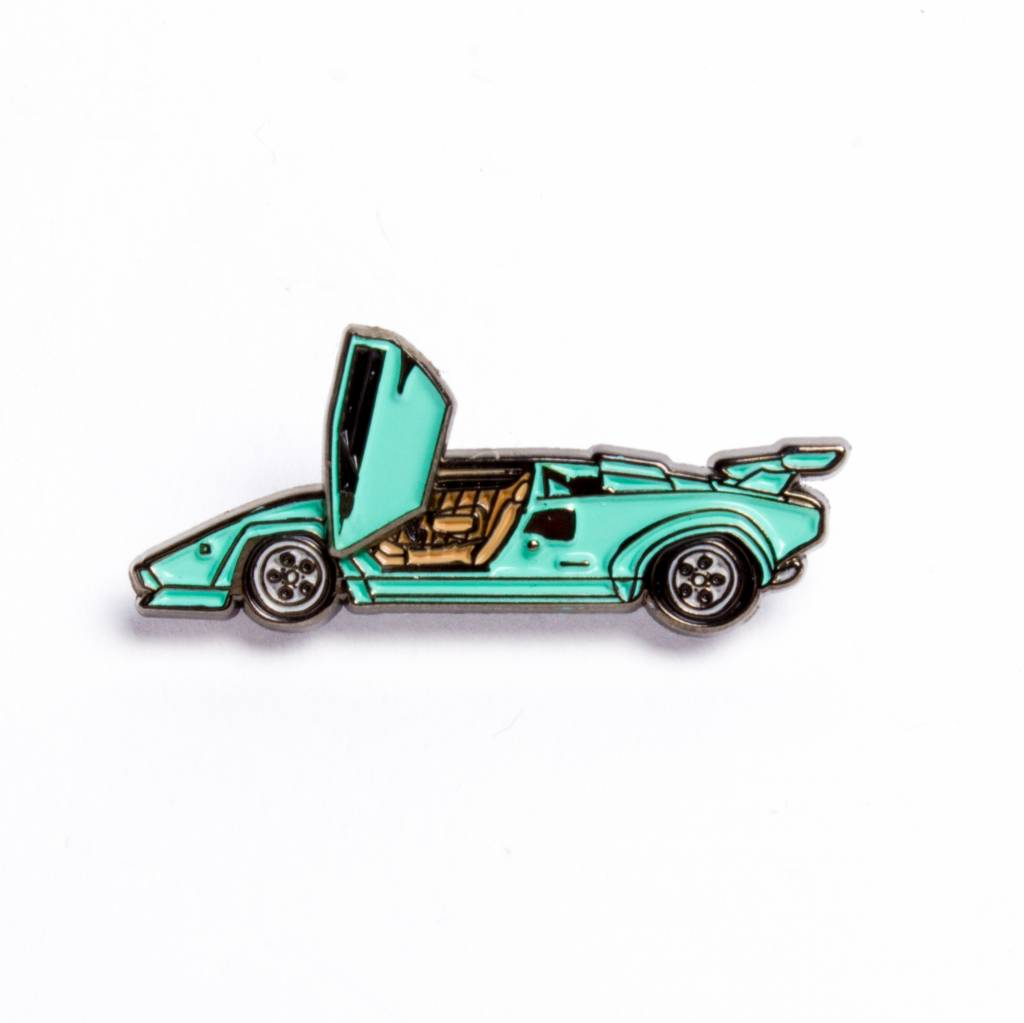 Peabe Countach Blue Car