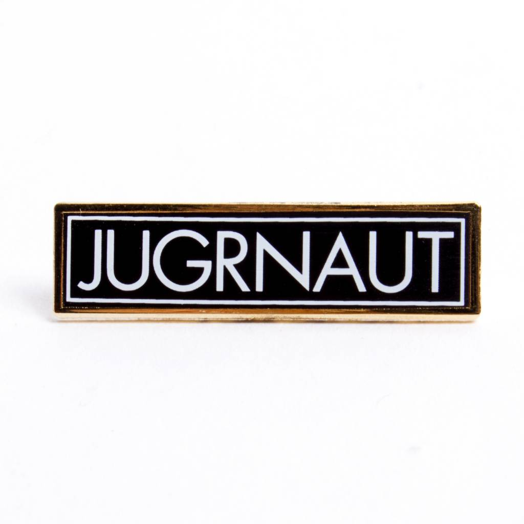 Jugrnaut Jugrnaut Tech Box Logo Lapel Pin