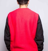 Champion Champion Colorblock Crew Red/Black