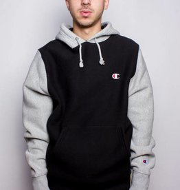 Champion Champion Colorblock Hoodie Black/Grey