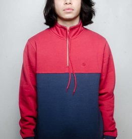 Stussy Stussy Drawcord Mock Neck Navy