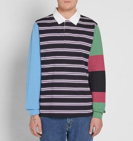Stussy Stussy Mix Up LS Rugby Black