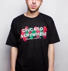 Jugrnaut Jugrnaut Re-up Roses Everywhere Tee Black