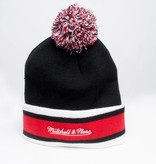 Jugrnaut Jugrnaut x Mitchell & Ness Shield Beanie Black/Red