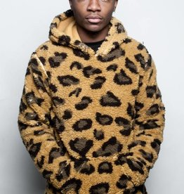 10 Deep 10 Deep Poodle Fleece Pullover Leopard