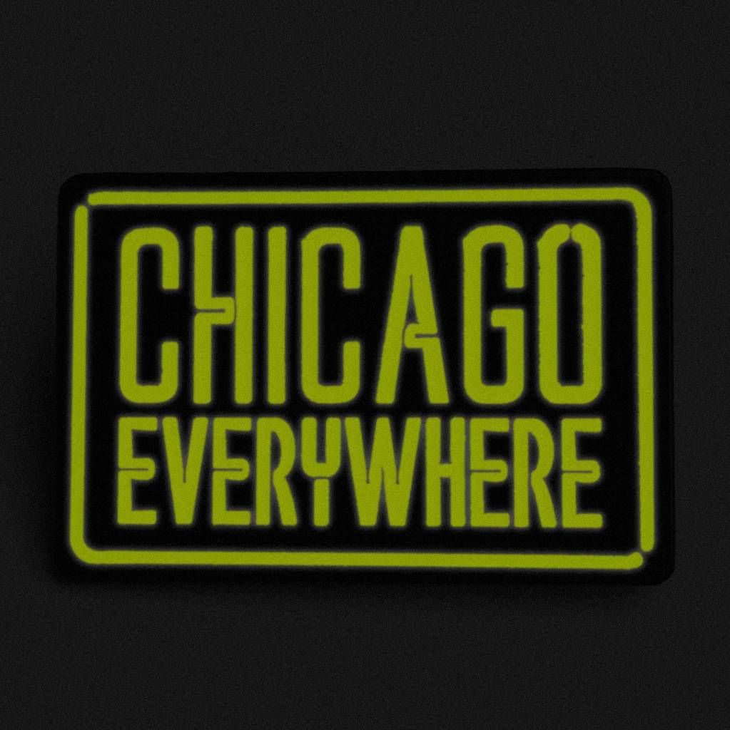 Jugrnaut Jugrnaut x Peabe Chicago Everywhere Pin green/peach