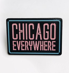 Jugrnaut Jugrnaut x Peabe Chicago Everywhere Pin blue/pink