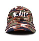 BBC BBC Heart Camo Slouch Cap Honey Dew