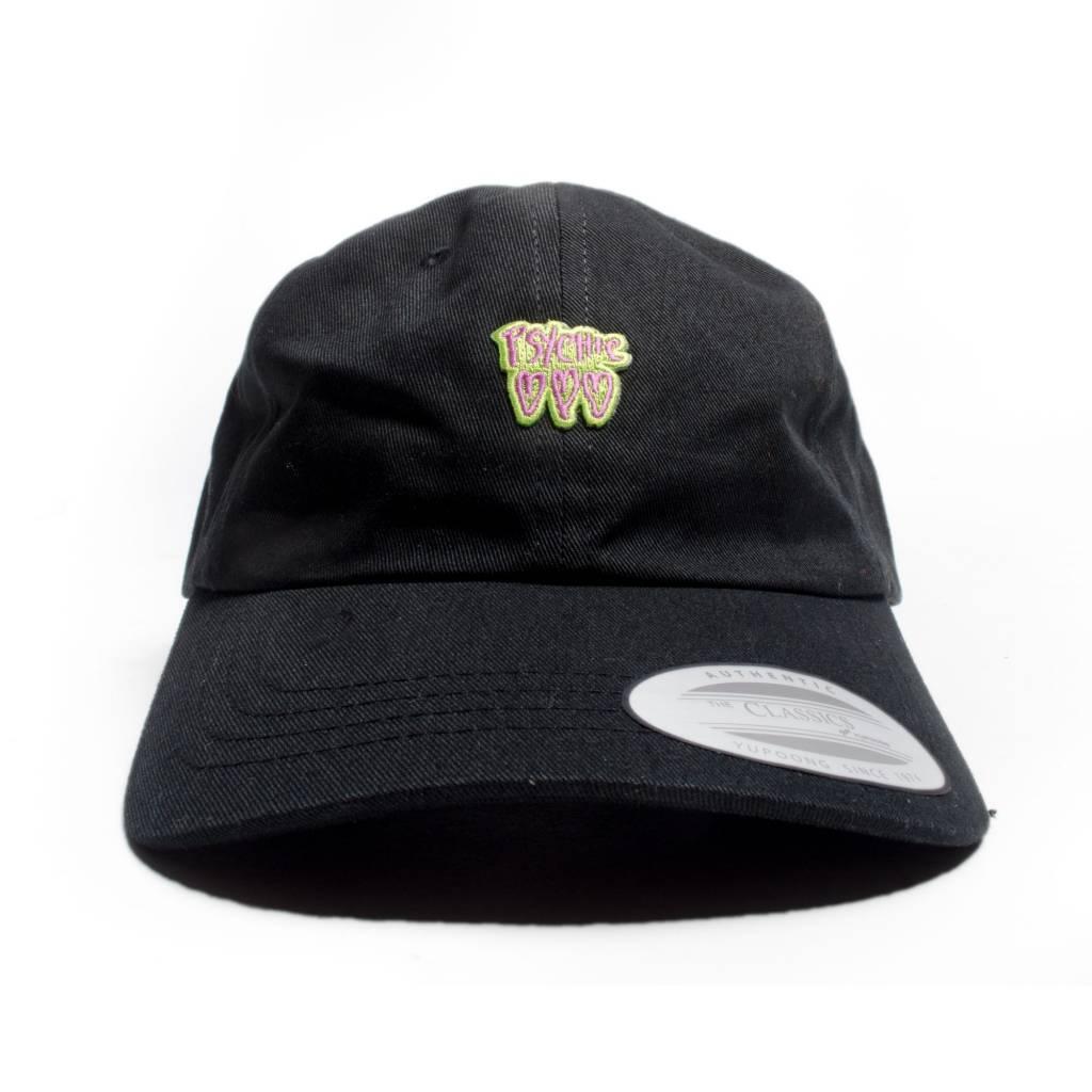 Psychic Hearts Psychic Hearts Logo Golf Cap Black