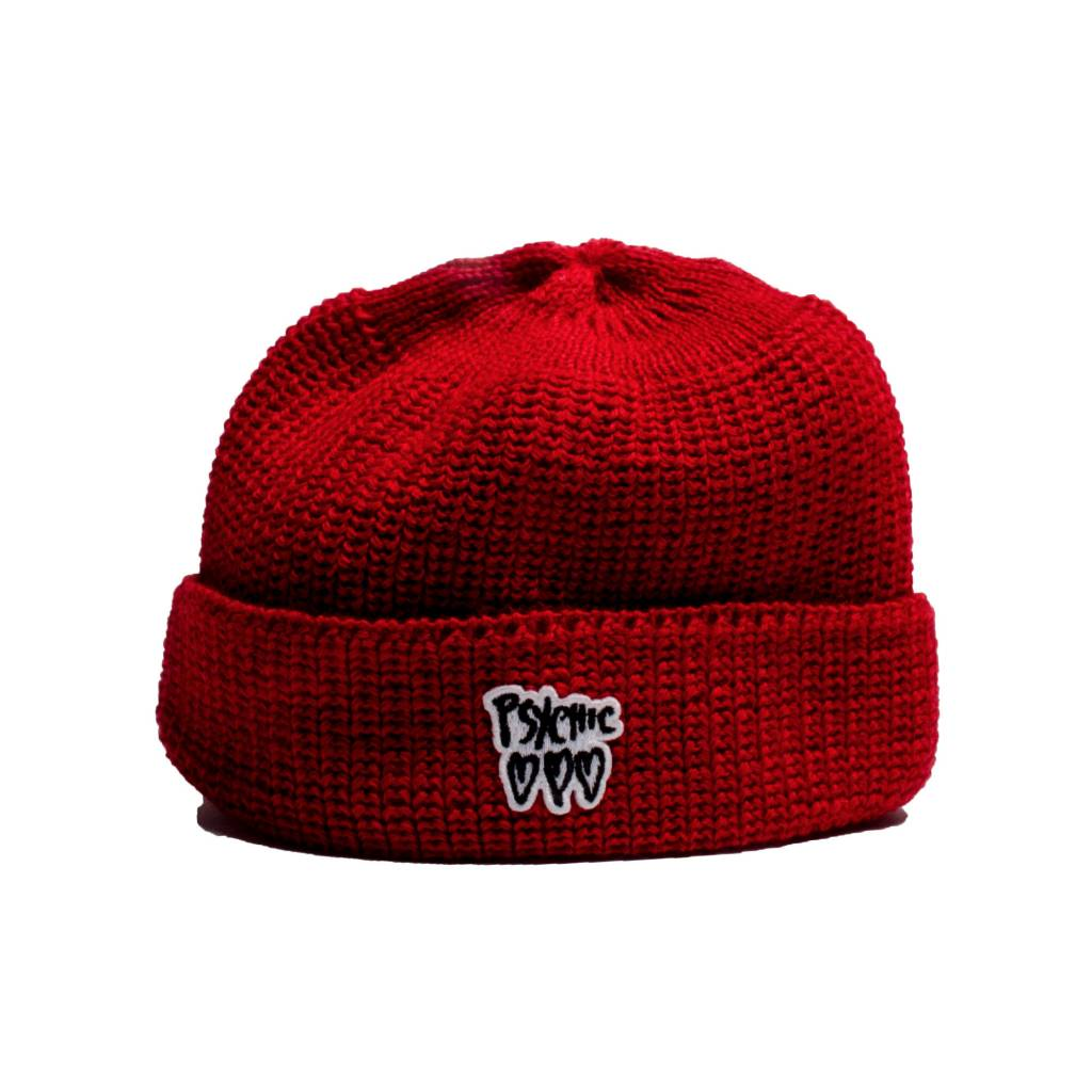Psychic Hearts Psychic Hearts Logo leuchtfeuer Beanie Red