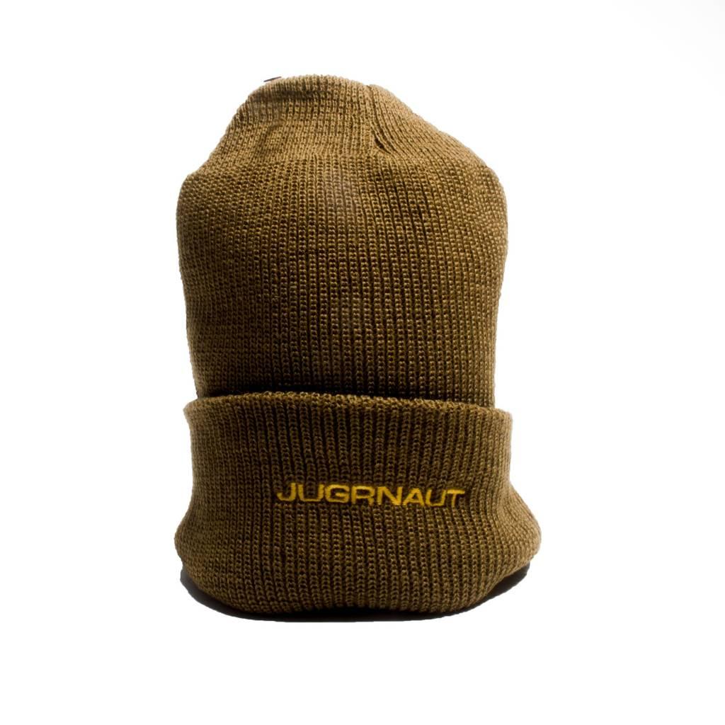 Jugrnaut Jugrnaut Spellout Beanie brown