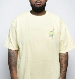 Stussy Stussy Blend Pocket Tee Yellow