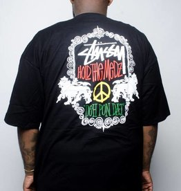 Stussy Stussy Lion Shield Tee Black