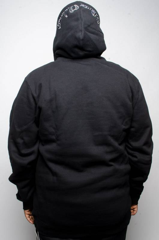 Stussy Stussy Wes Applique Hood Black