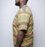 Stussy Stussy Bold Stripe Shirt Olive