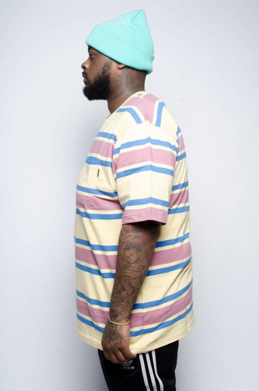 Stussy Stussy Bold Stripe Shirt Creme