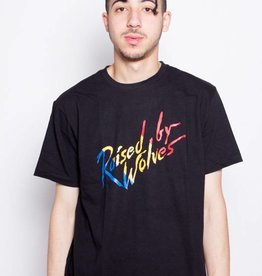 Raised By Wolves Raised By Wolves Paint Tee Black