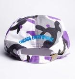 Jugrnaut Jugrnaut Spellout Sportsman Cap Purple Camo