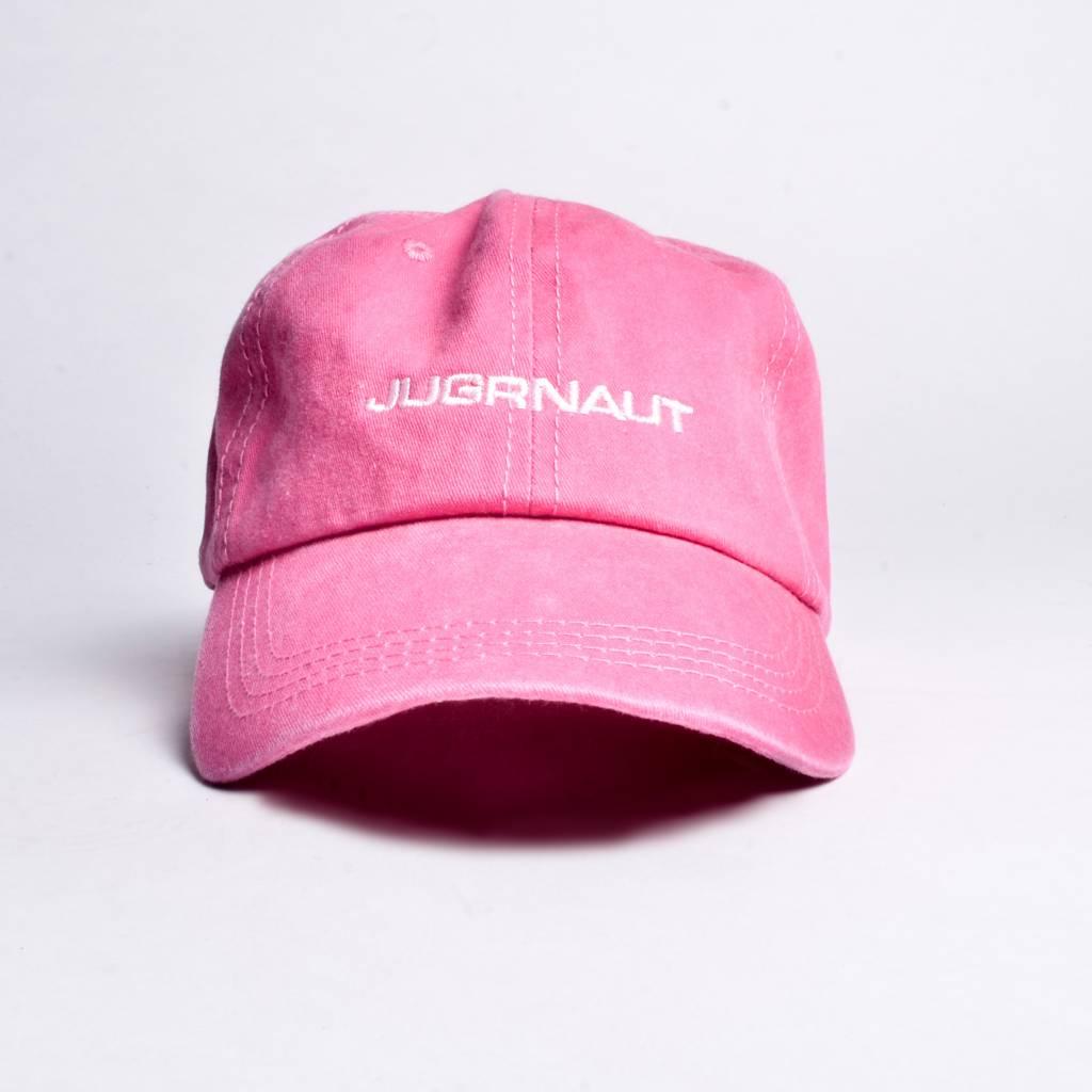 Jugrnaut Jugrnaut Spellout Sportsman Cap Pink