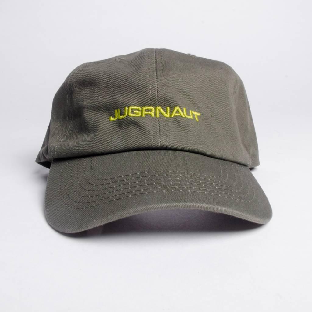 Jugrnaut Jugrnaut Spellout Sportsman Cap Olive